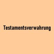 Testamentsverwahrung